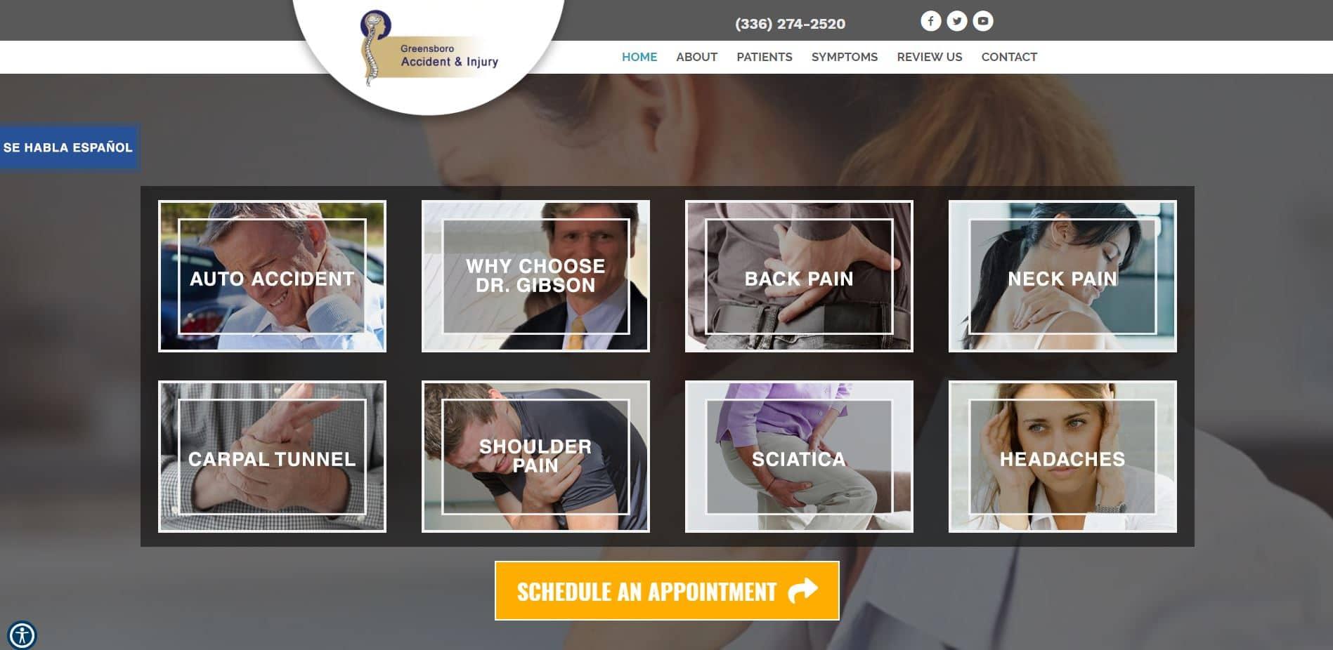 Chiropractor in Greensboro