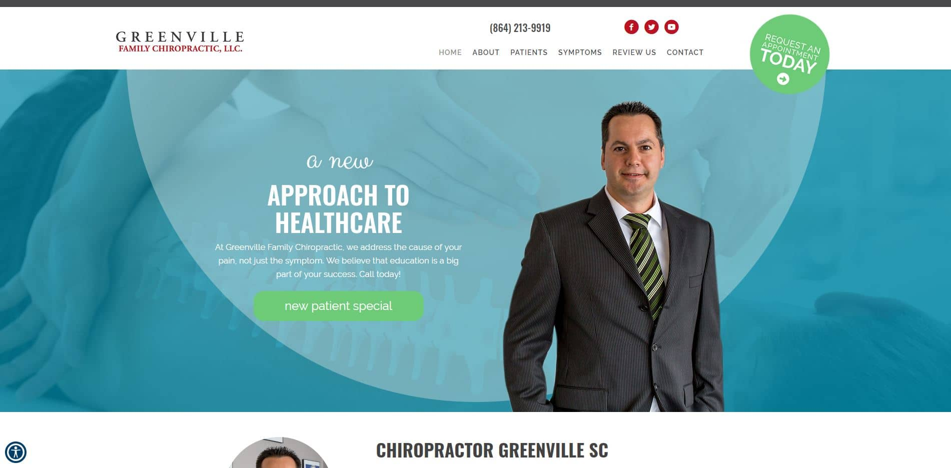 Chiropractor in Greenville