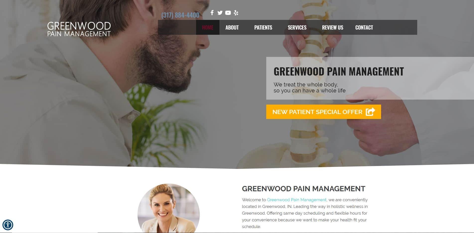 Chiropractor in Greedwood