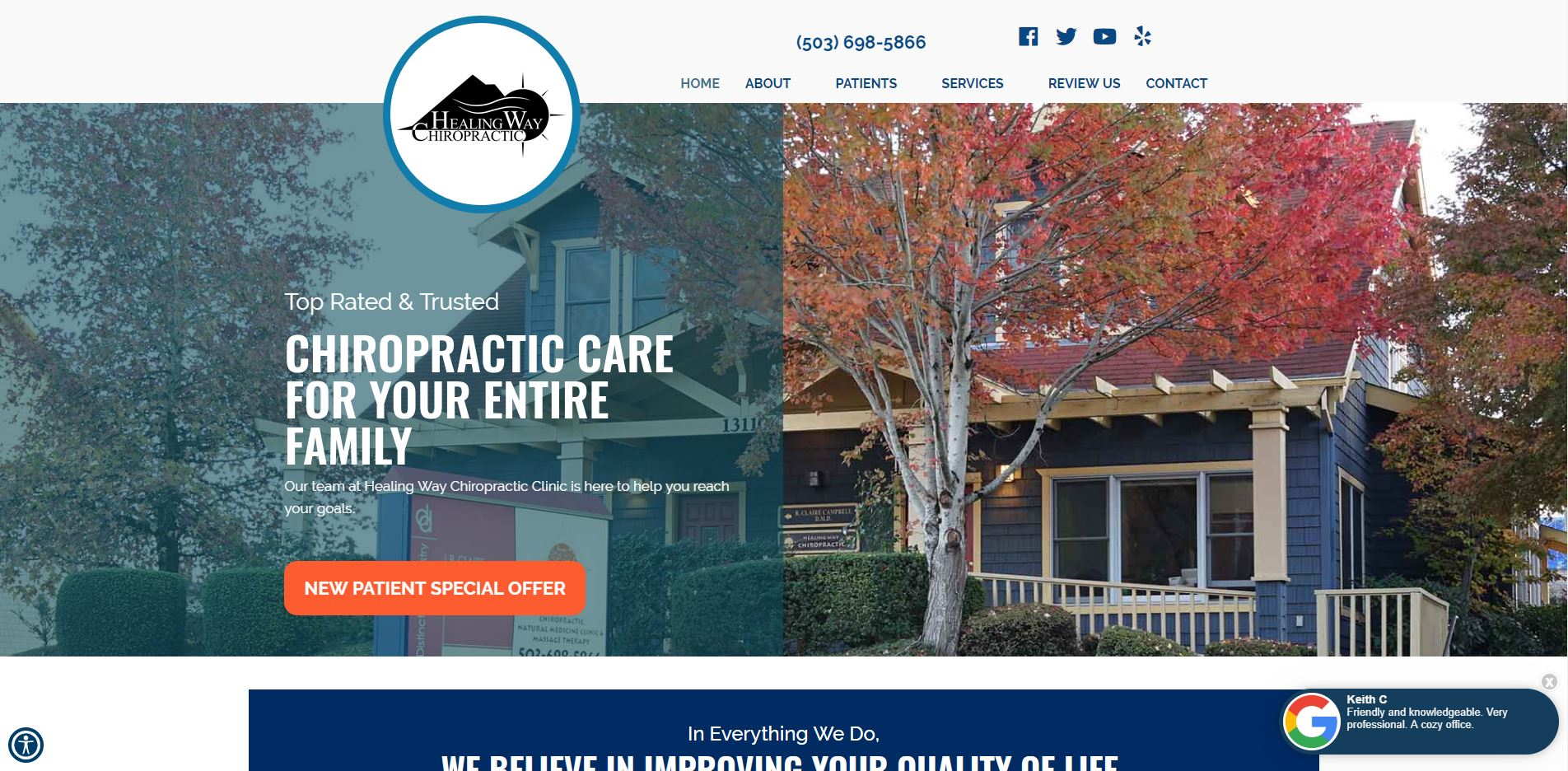 Chiropractor in Happy Valley