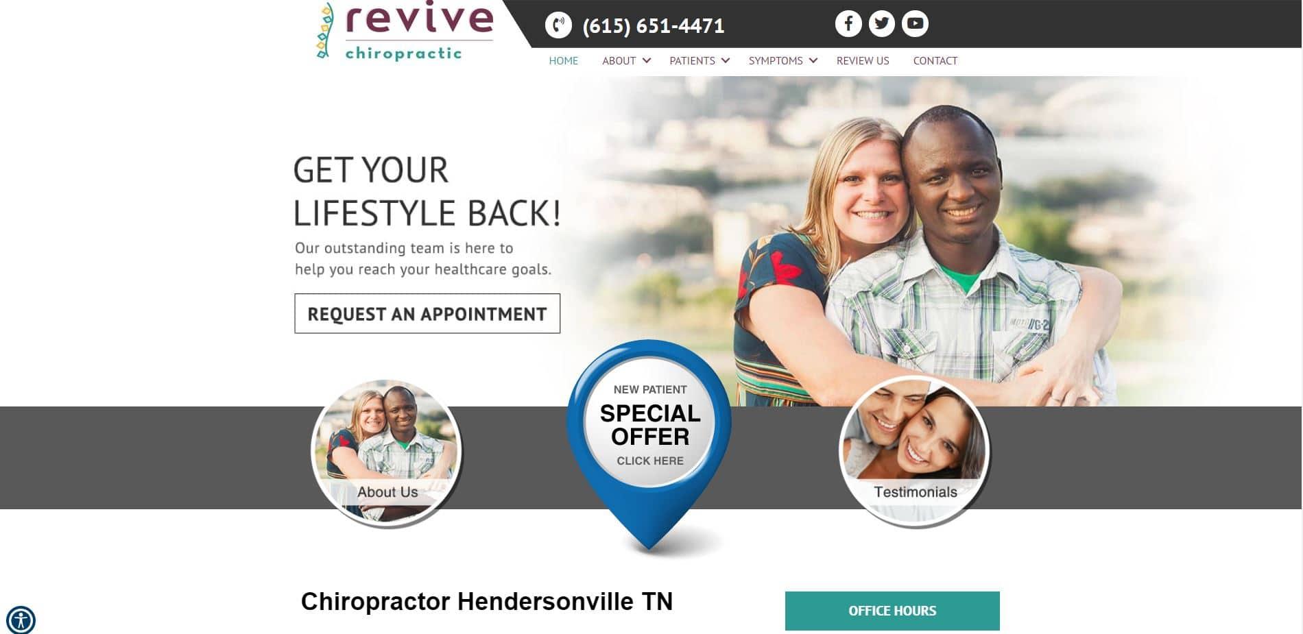 Chiropractor in Hendersonville