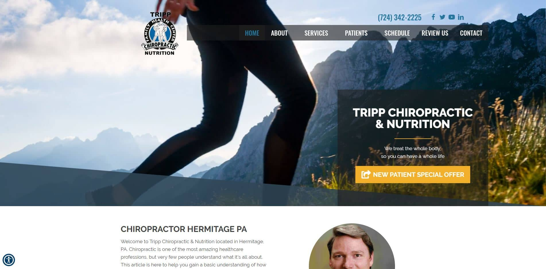 Chiropractor in Hermitage