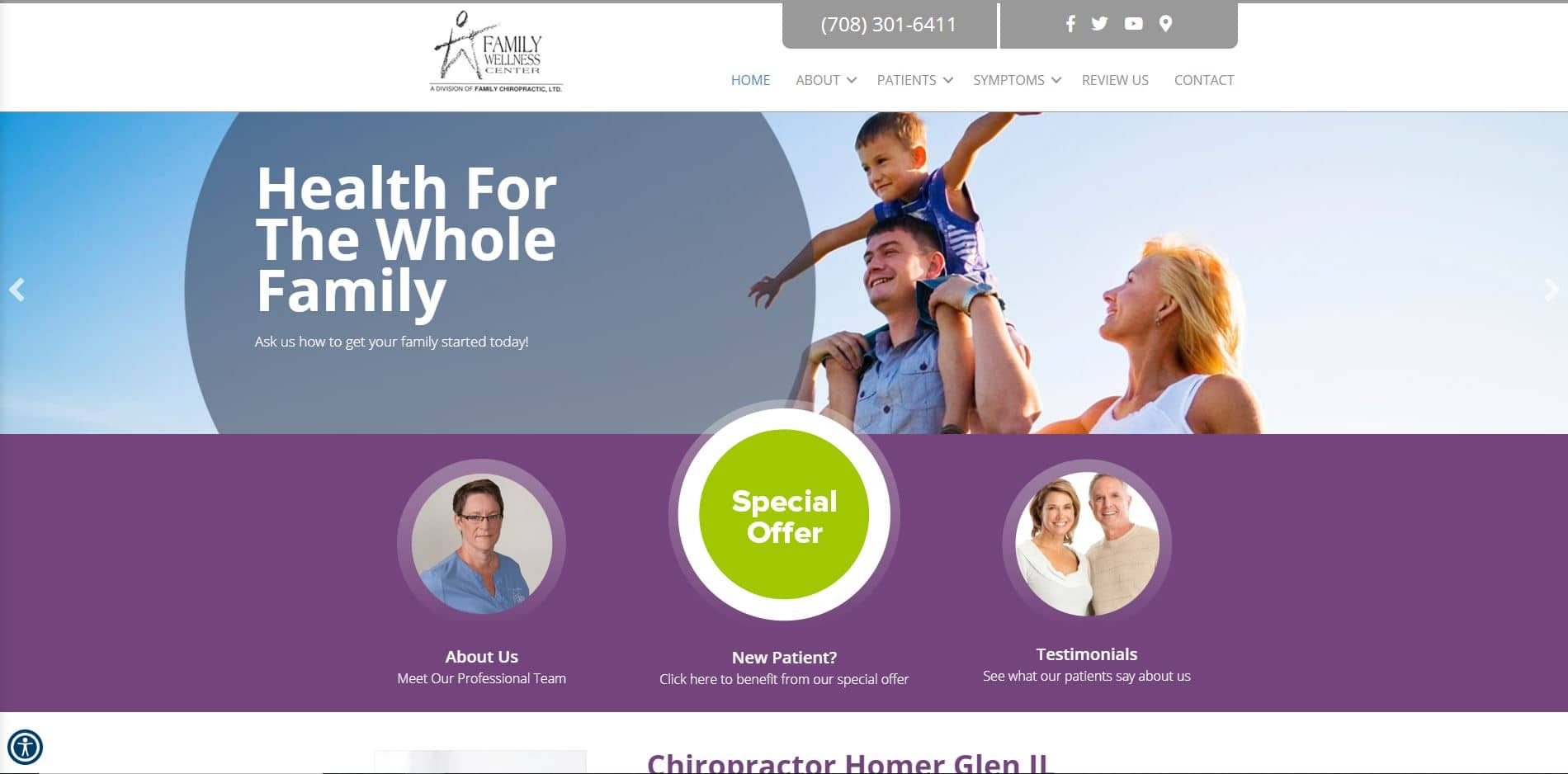 Chiropractor in Homer Glen
