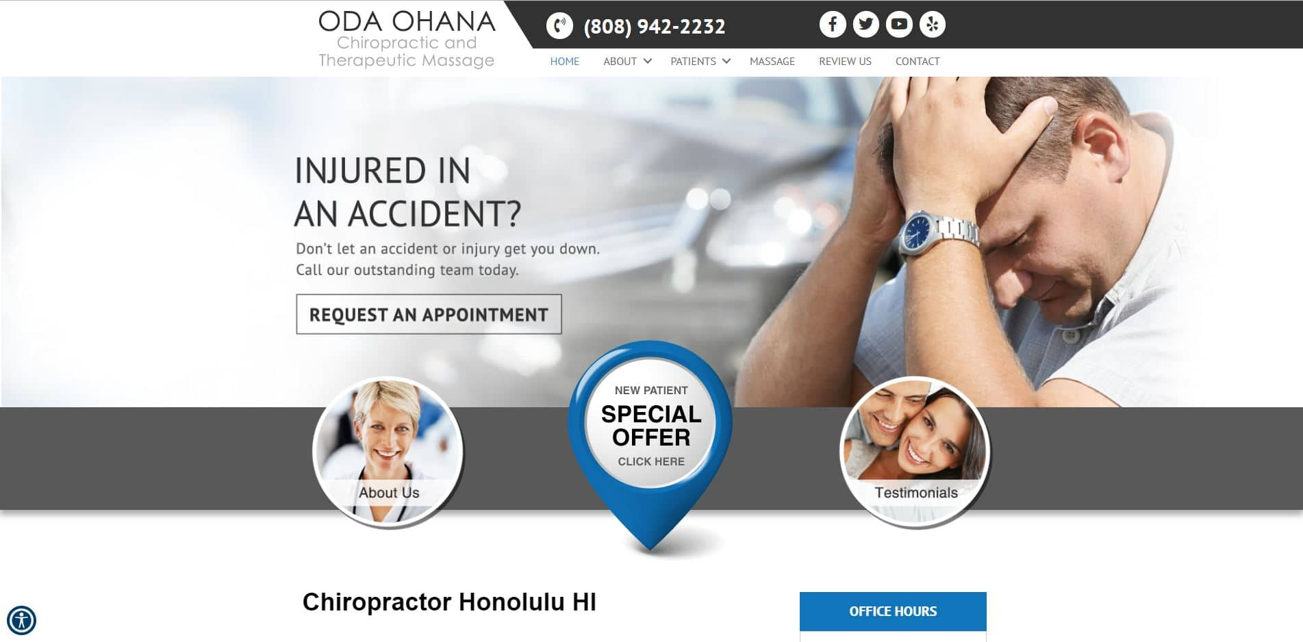 Chiropractor in Honolulu