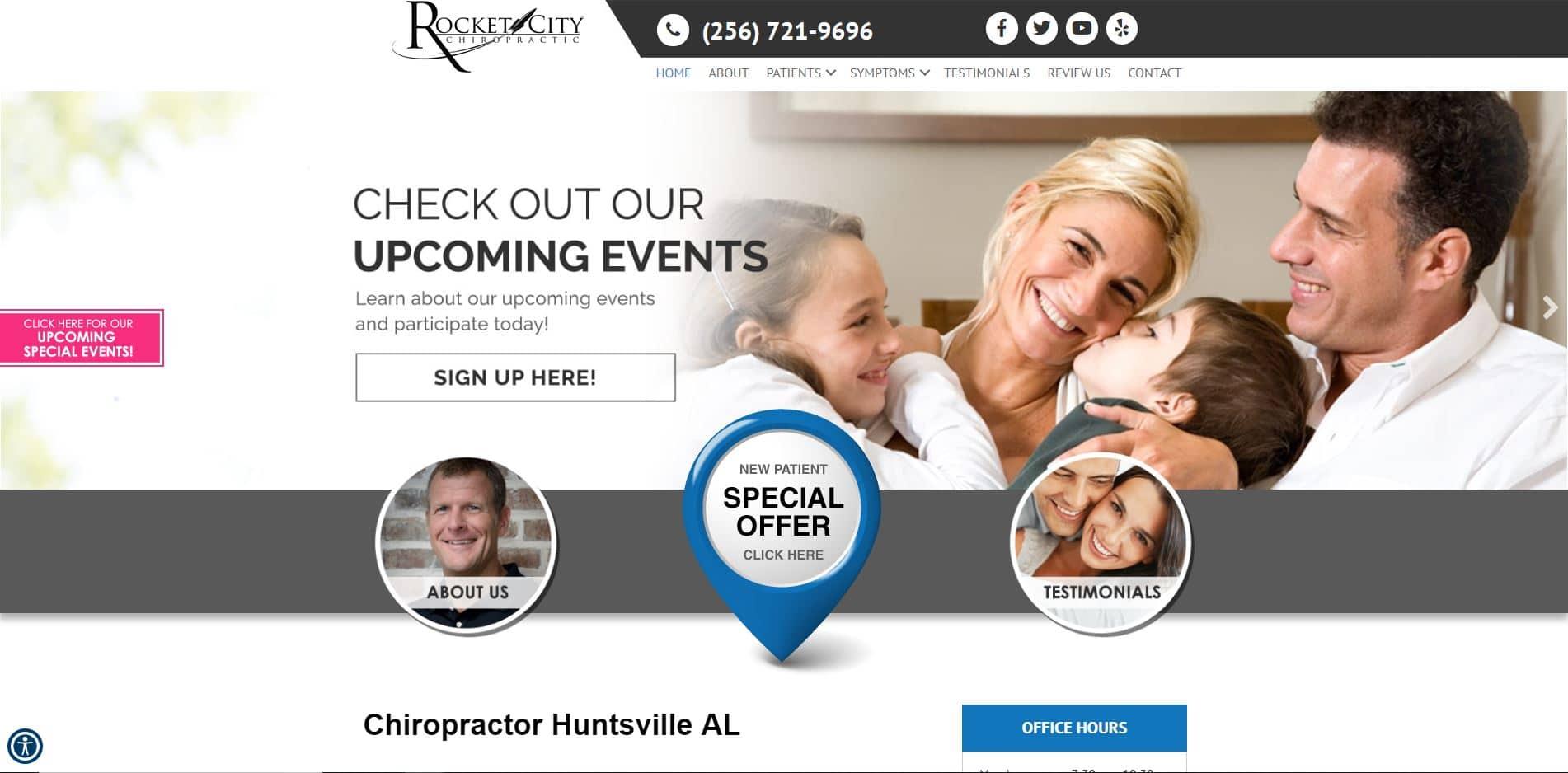 Chiropractor in Huntsville