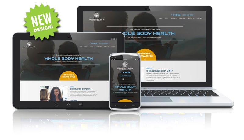 New Chiropractic Website Design