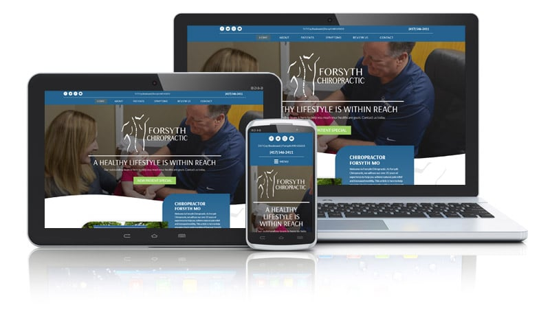 Popular Chiropractic Website Design