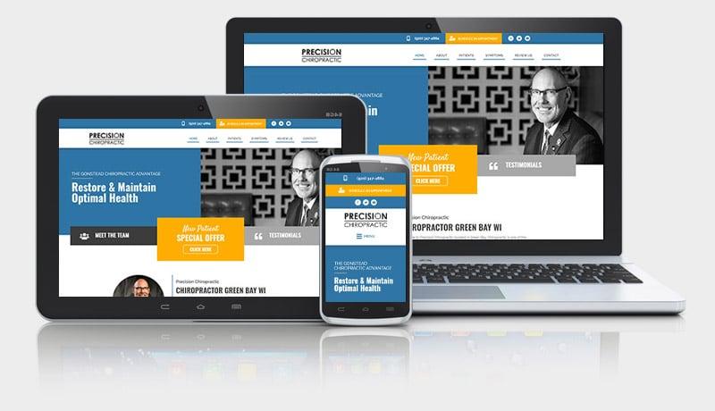 Gonstead Website Design