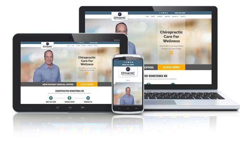 Website Design for Chiropractor