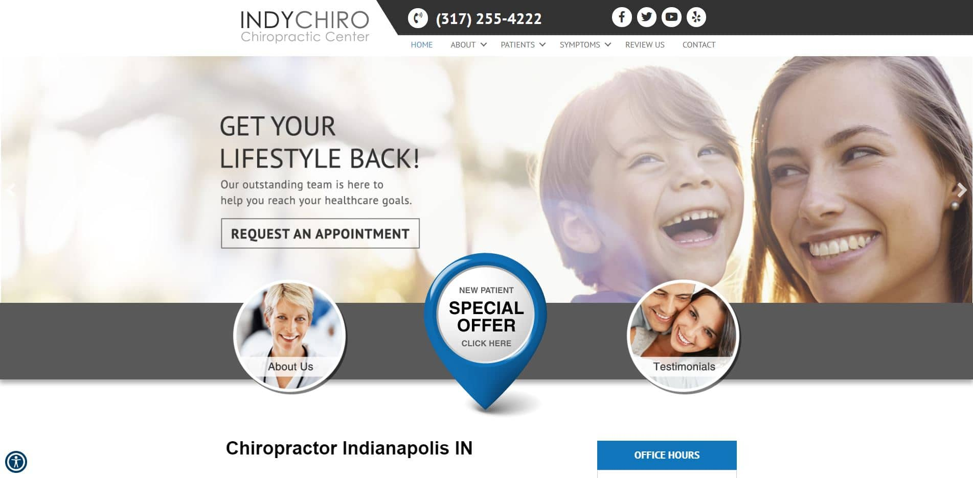 Chiropractor in Indianapolis