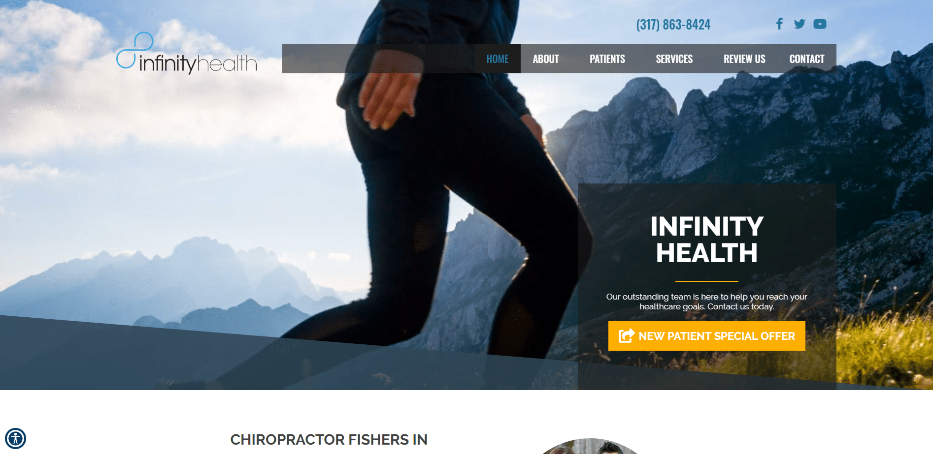 Chiropractor Fishers IN Infinity Health