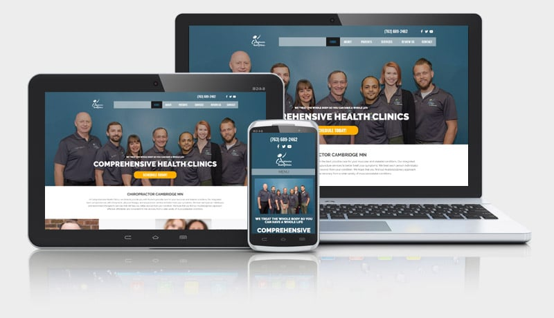 Integrative Health Clinic Website