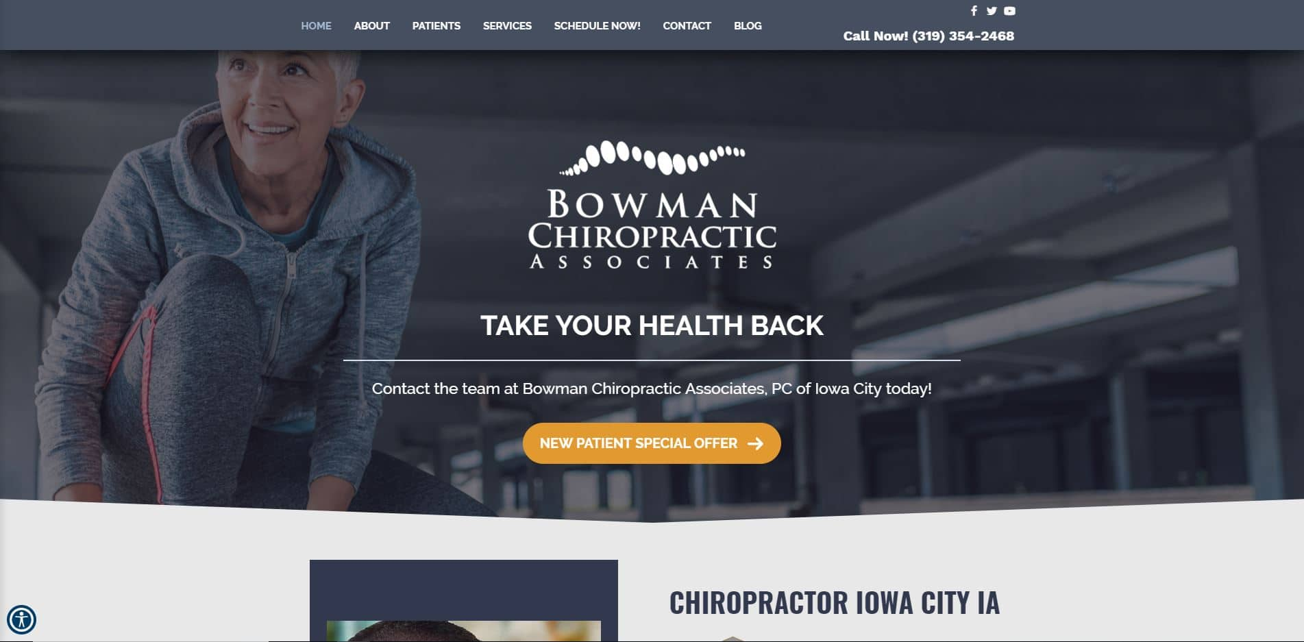 Chiropractor in Iowa City