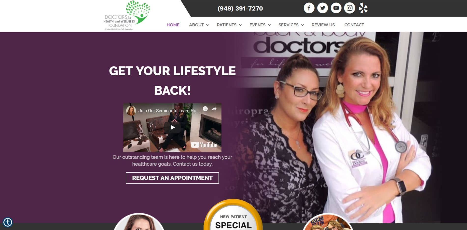 Chiropractor in Irvine