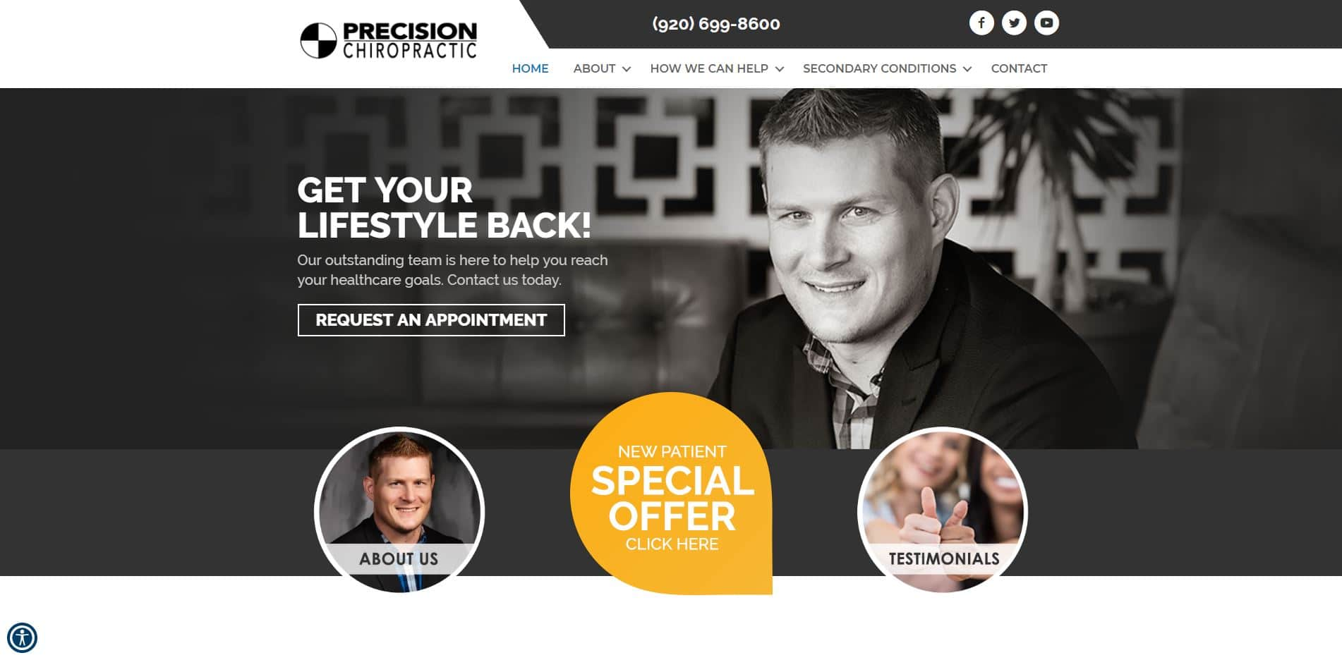 Chiropractor in Johnson Creek