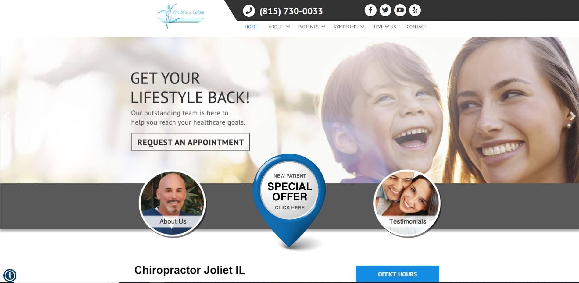 Chiropractor in Joliet