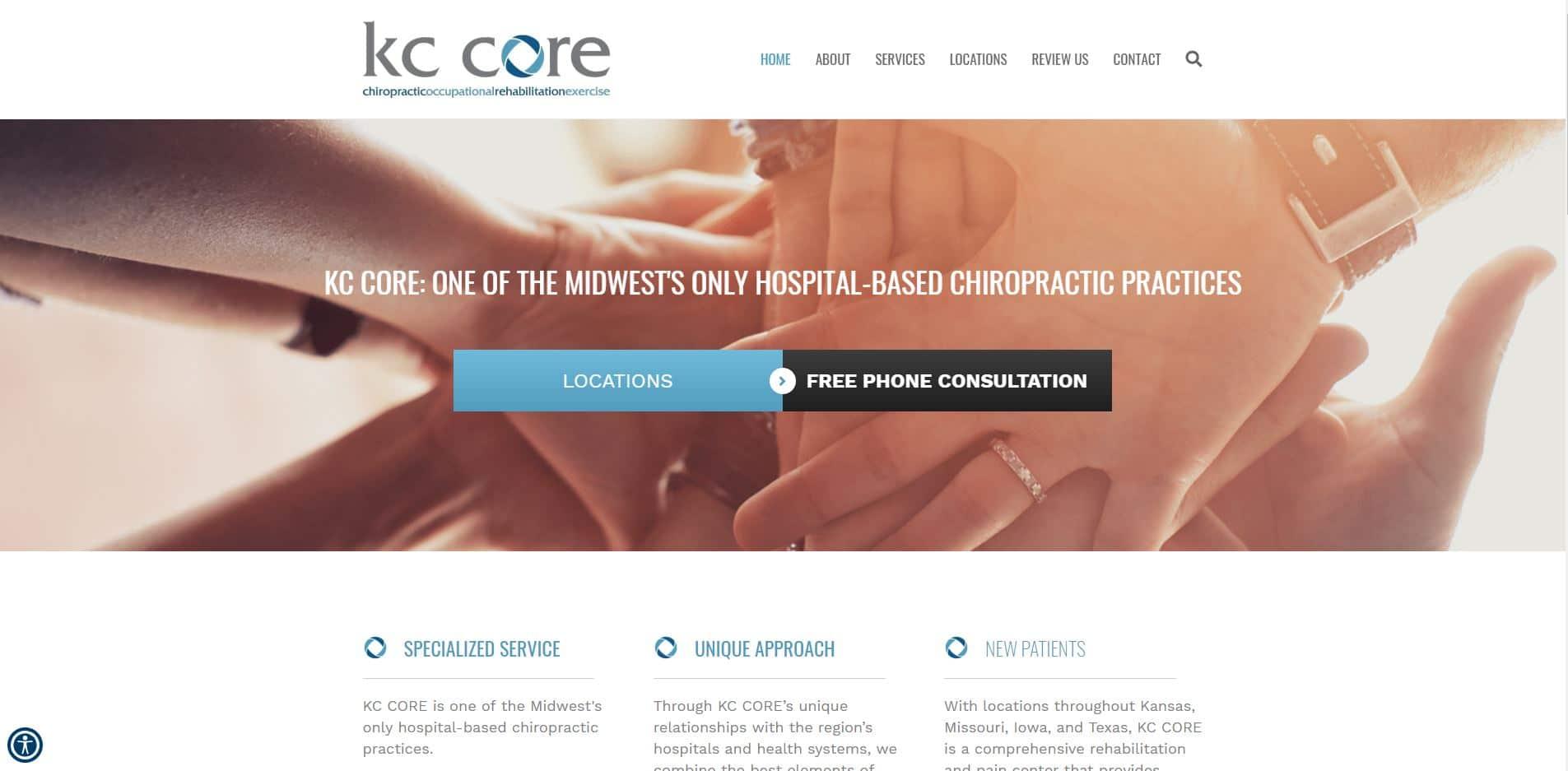 KC CORE Chiropractor