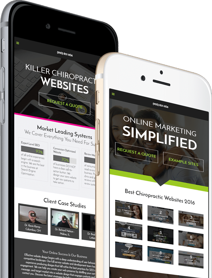 Landing Pages for Chiropractors