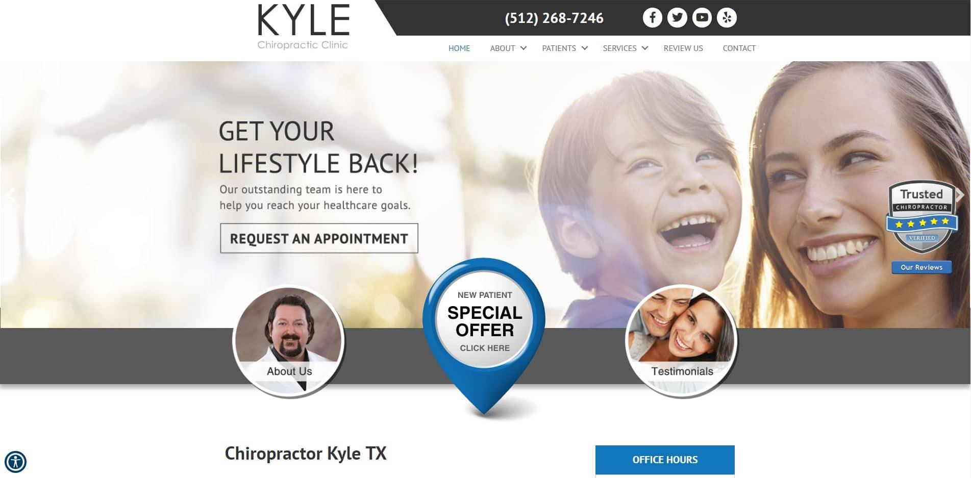 Chiropractor in Kyle