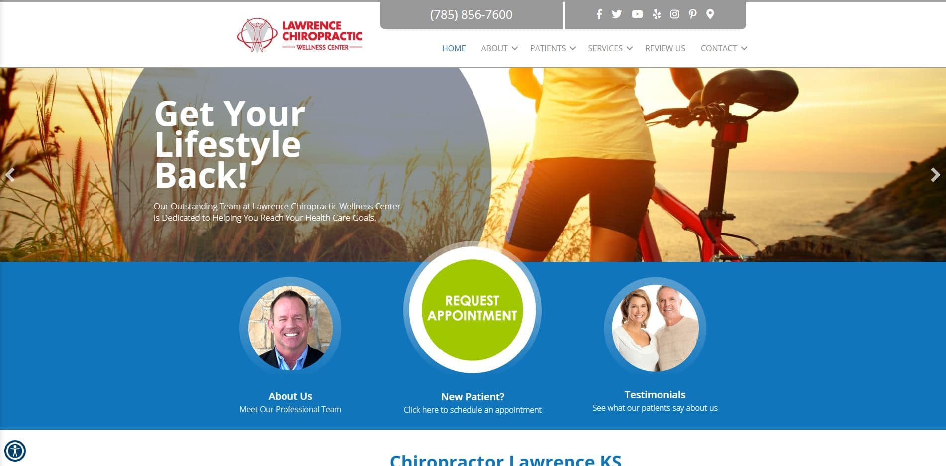 Chiropractor in Lawrence