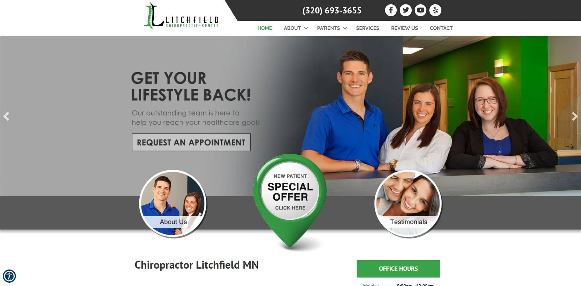 Chiropractor in Litchfield