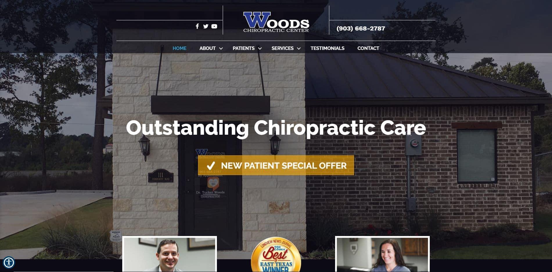 Chiropractor in Longview