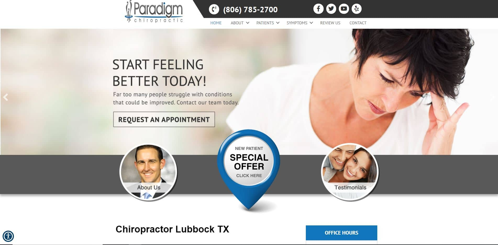 Chiropractor in Lubbock