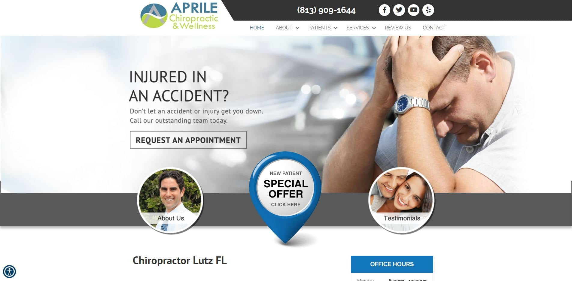 Chiropractor in Lutz