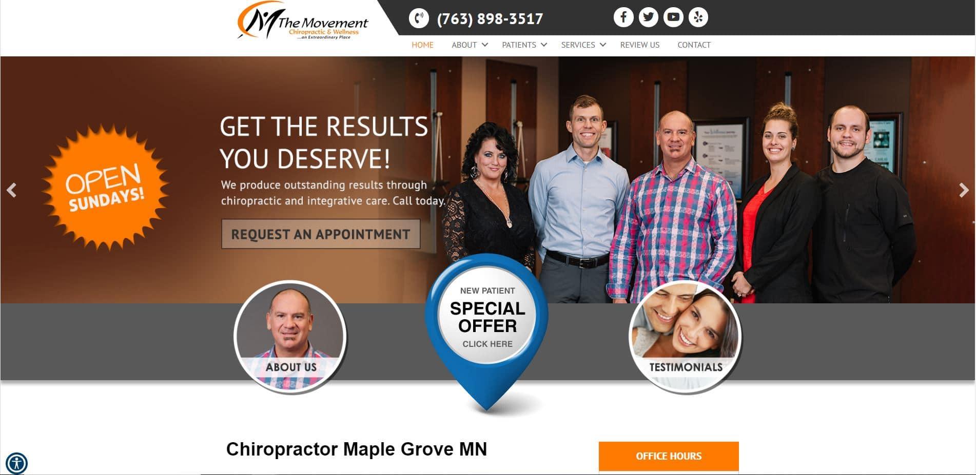 Chiropractor in Maple Grove