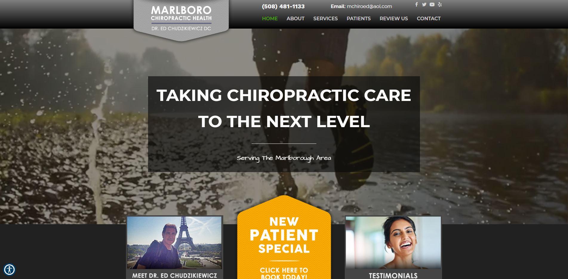 Chiropractor in Marlborough