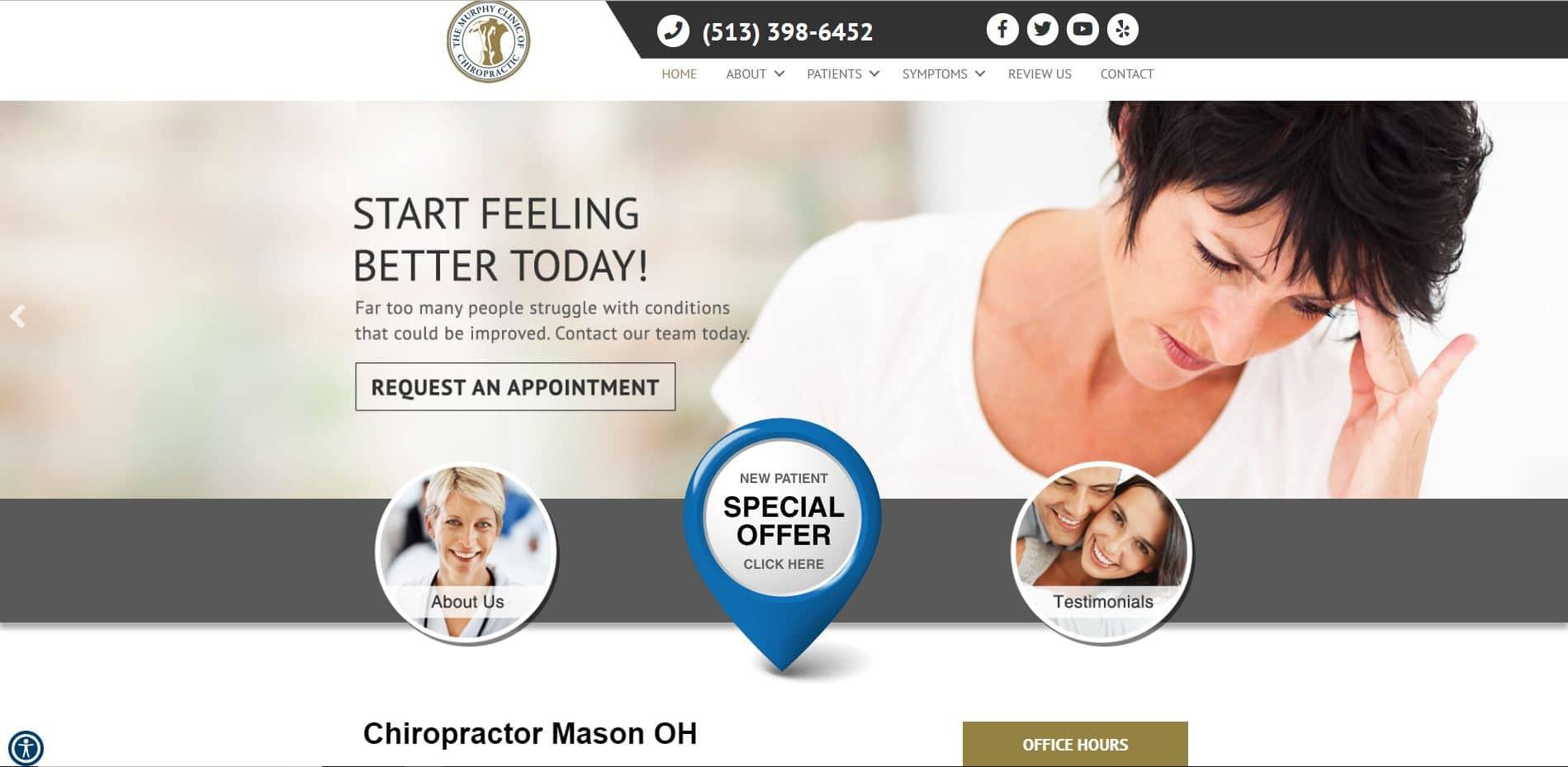 Chiropractor in Mason