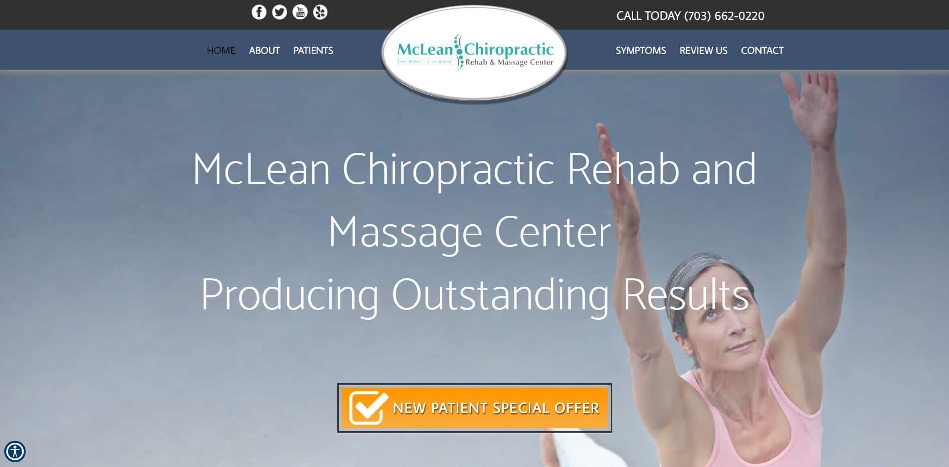 Chiropractor in McLean