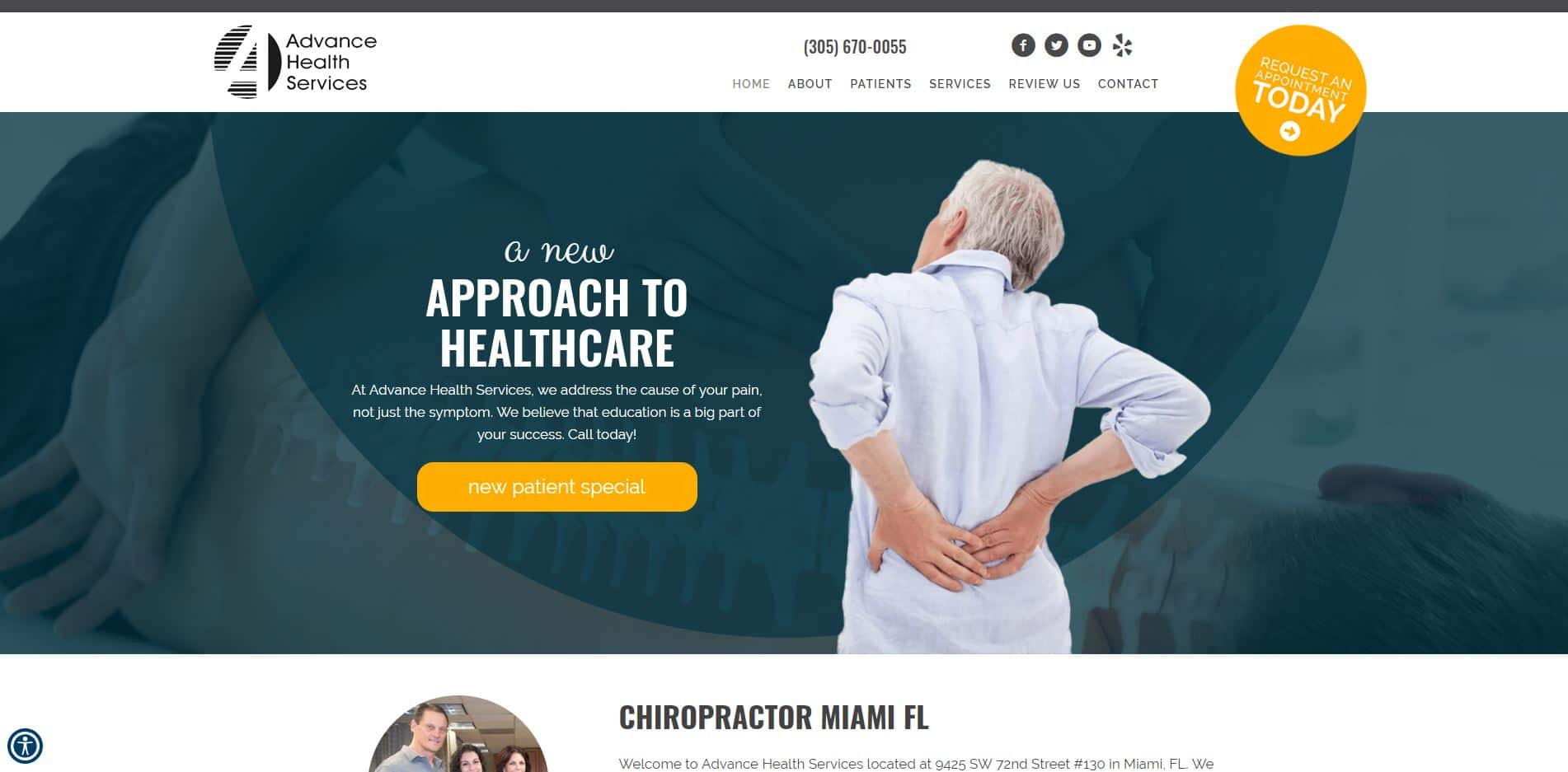 Chiropractor in Miami