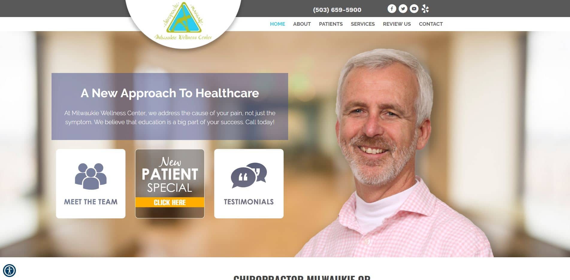 Chiropractor in Milwaukie