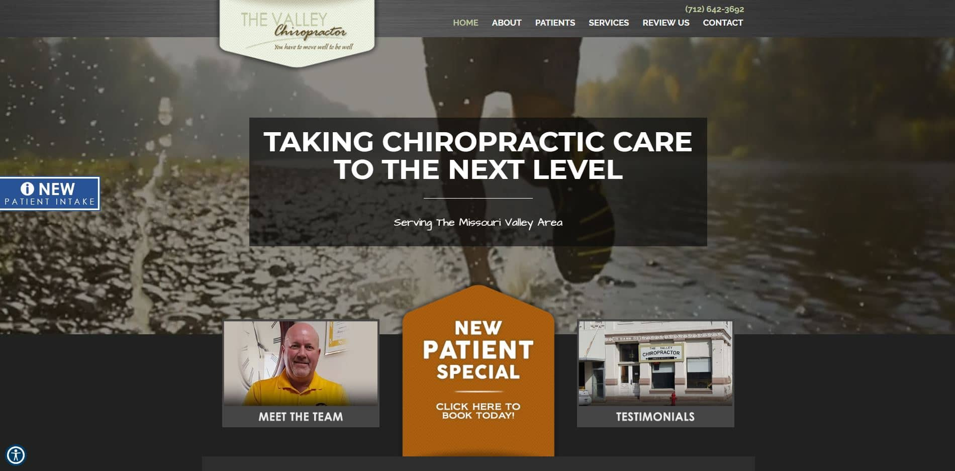 Chiropractor in Missouri Valley