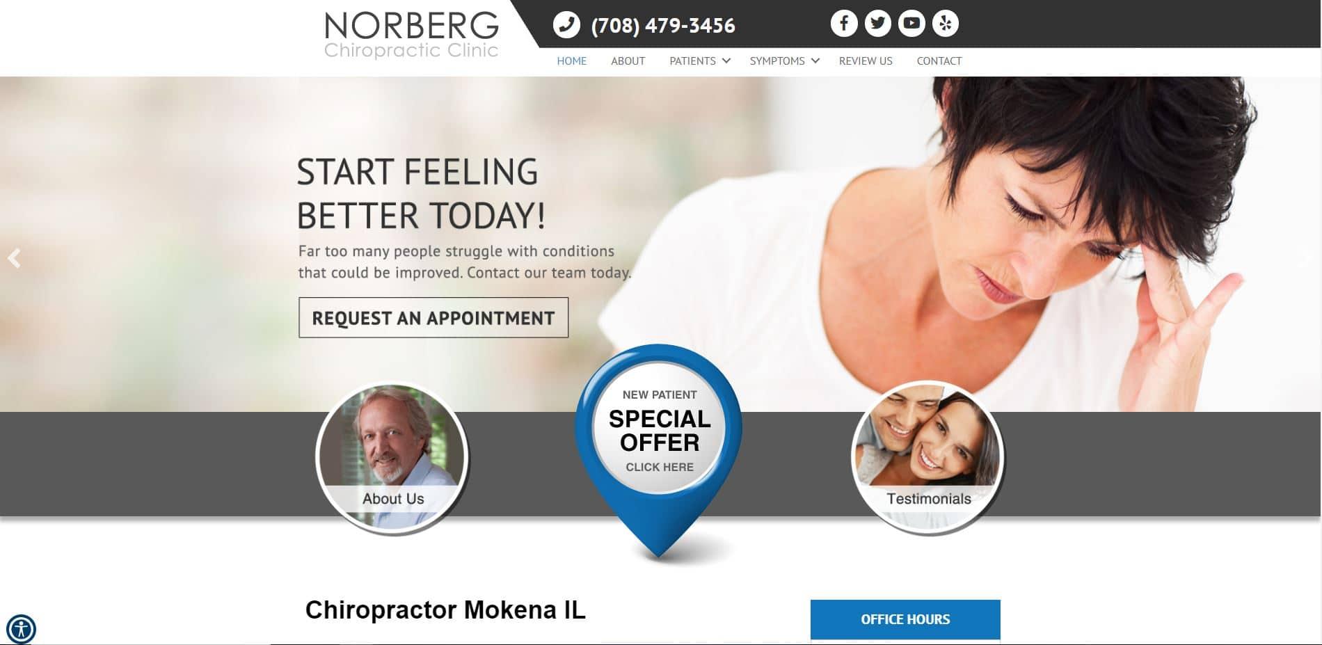 Chiropractor in Mokena