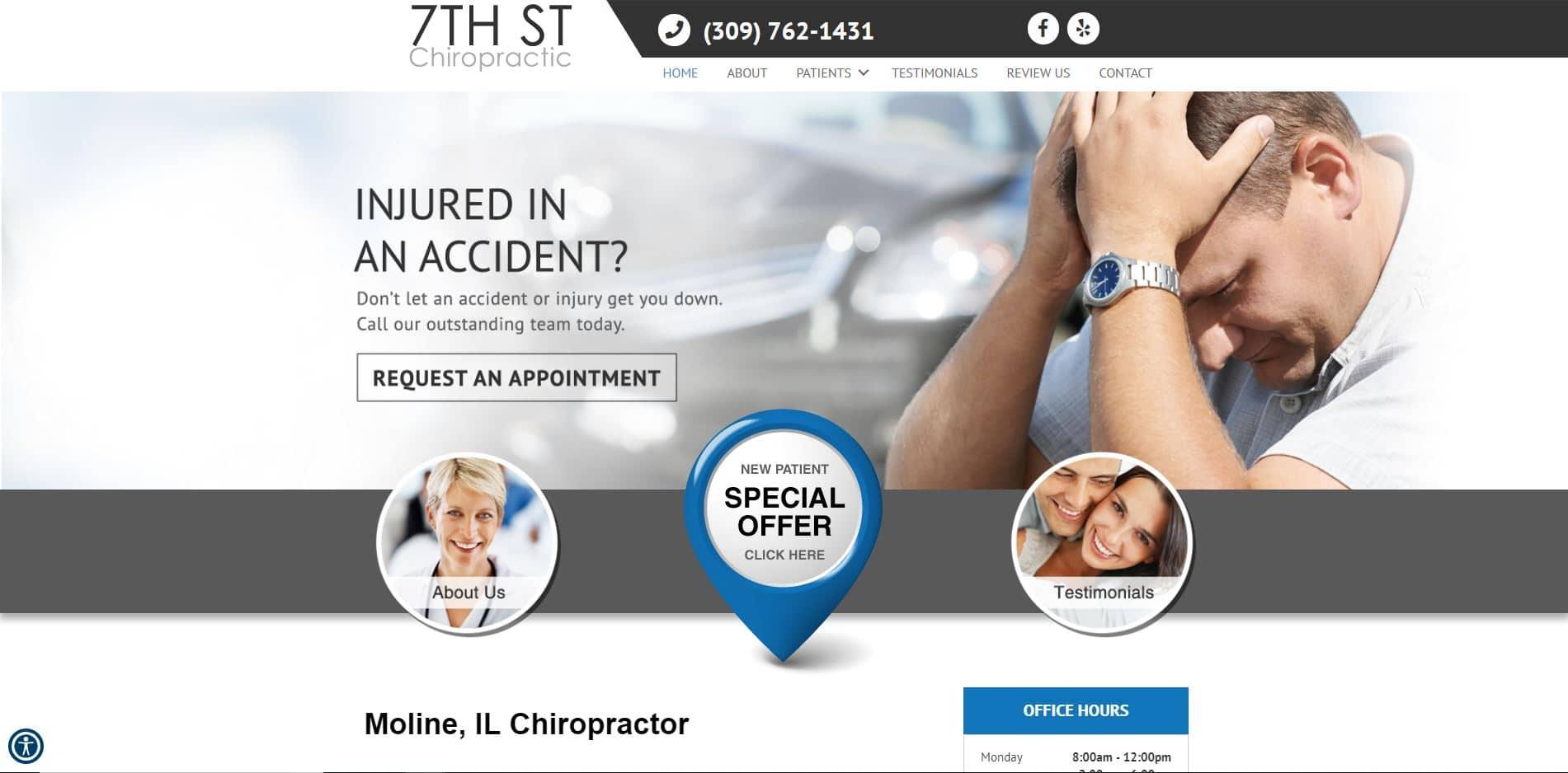 Chiropractor in Moline