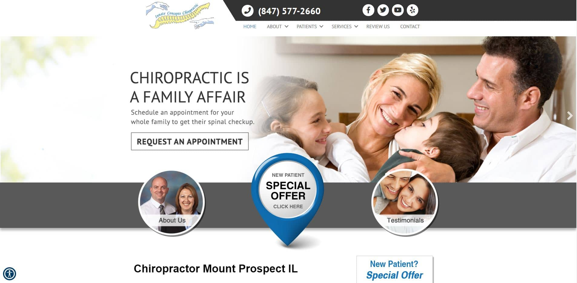Chiropractor in Mount Prospect
