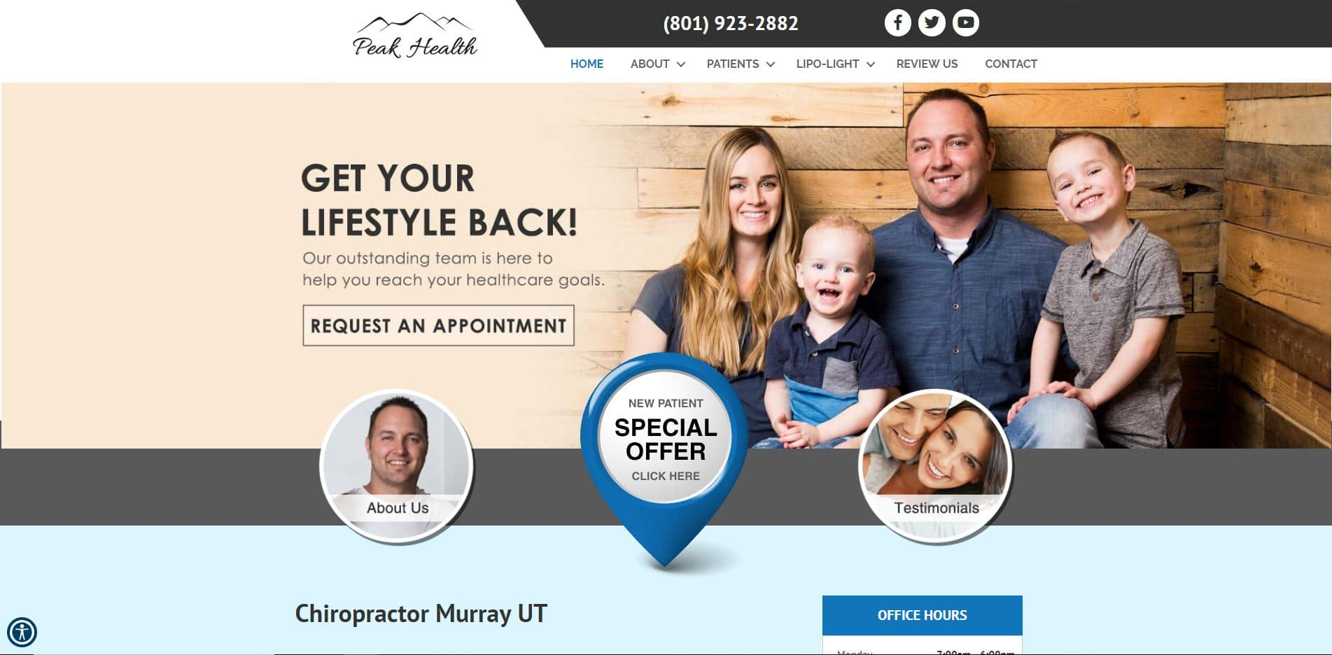 Chiropractor in Murray