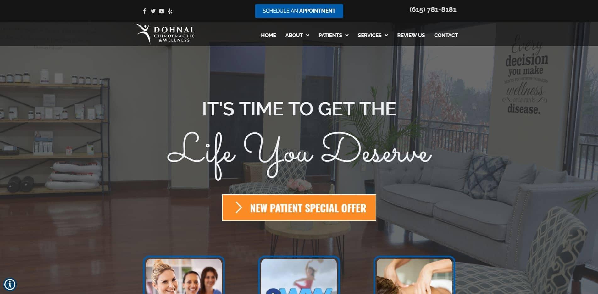 Chiropractor in Nashville