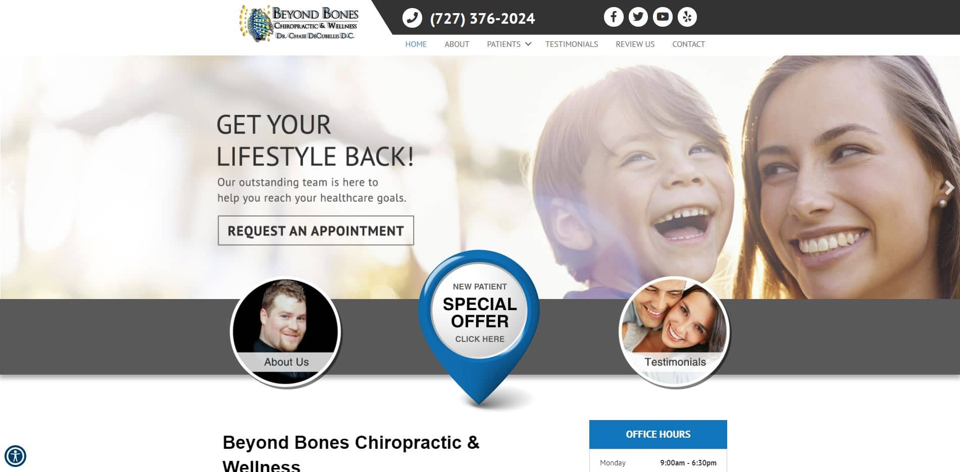 Chiropractor in New Port Richey