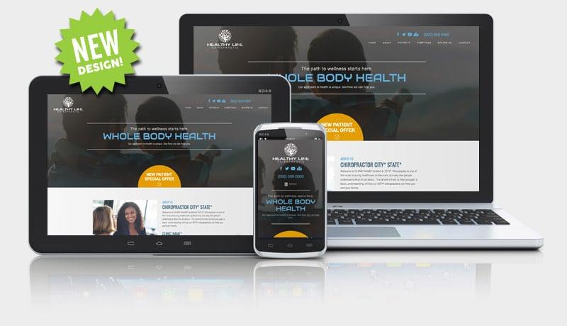 Dark Website Design for Chiropractors