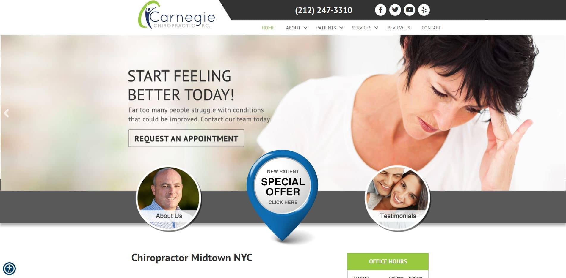 Chiropractor in New York