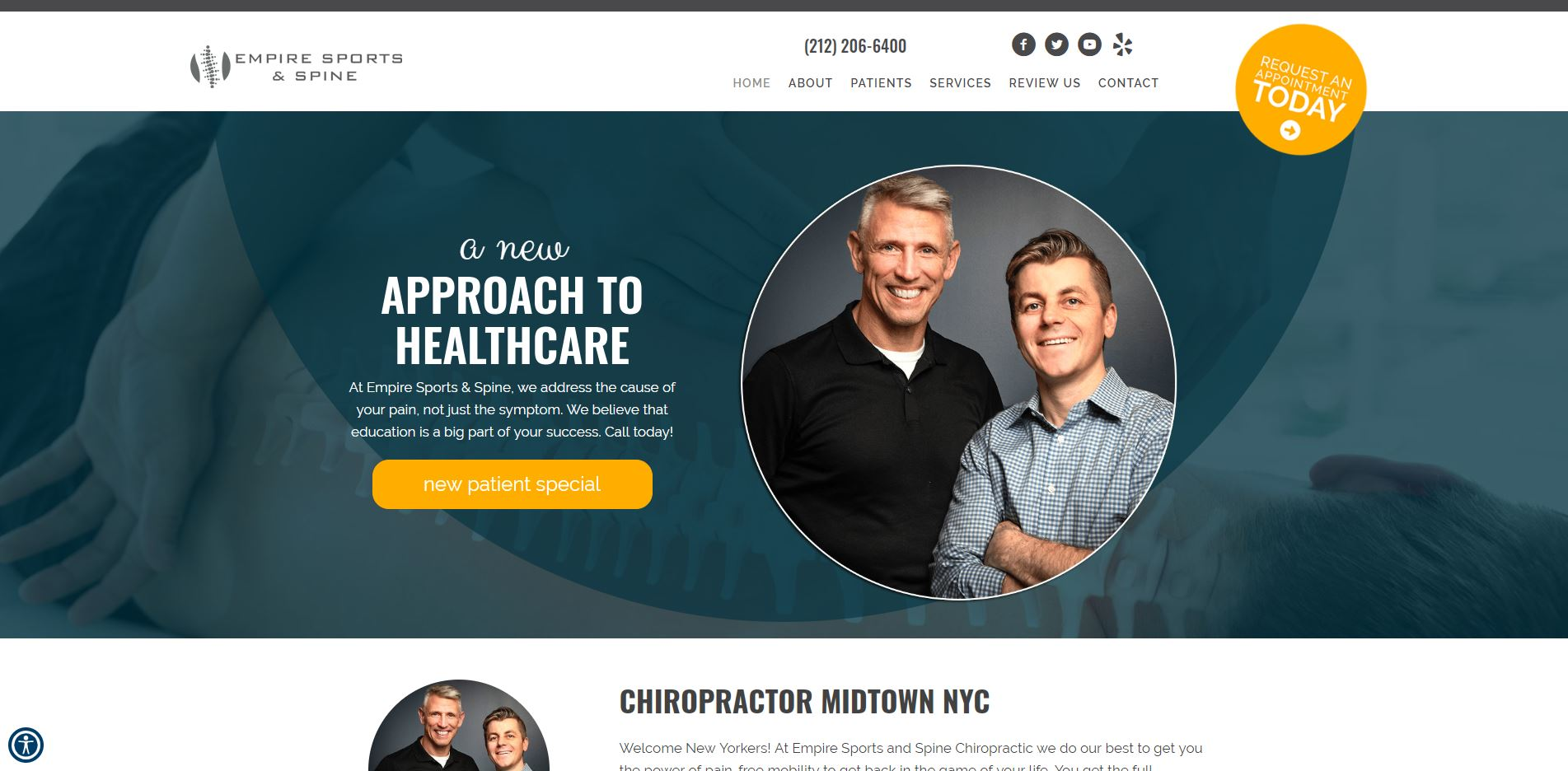 Chiropractor in New York