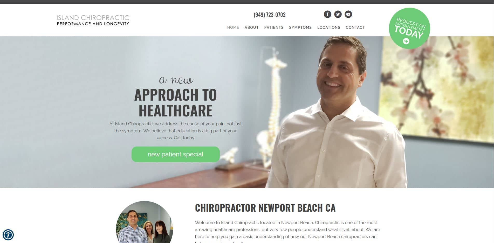 Chiropractor in Newport Beach