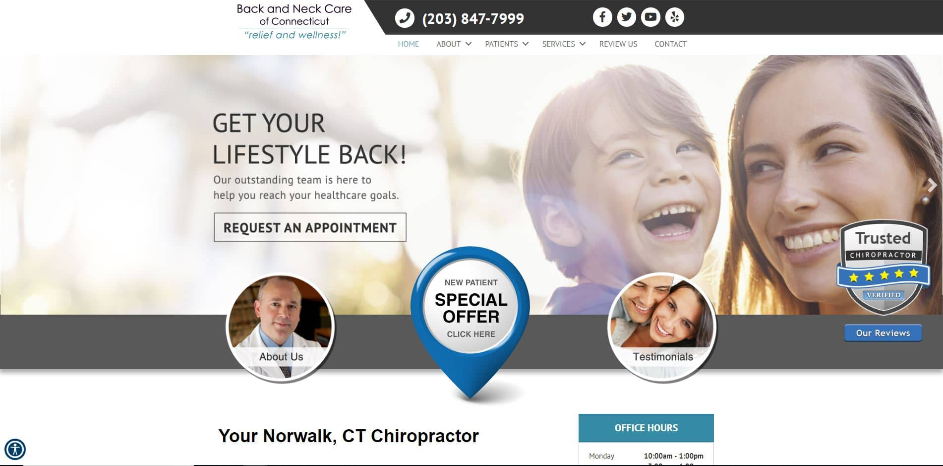 Chiropractor in Norwalk