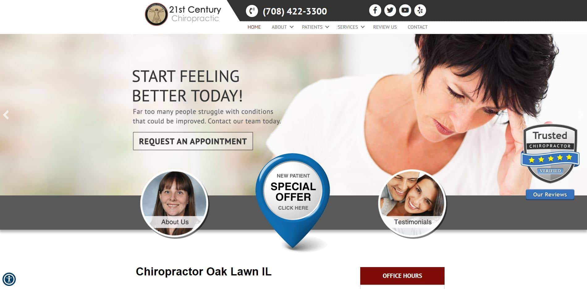 Chiropractor in Oak Lawn
