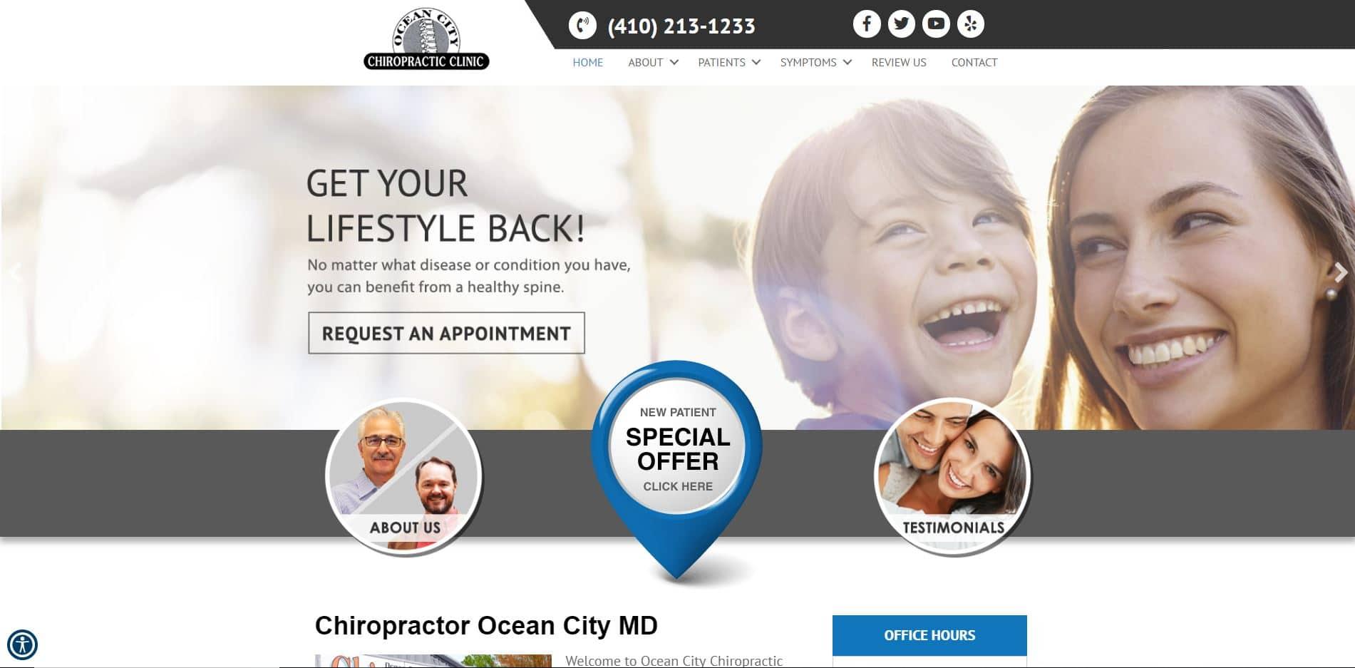 Chiropractor in Ocean City