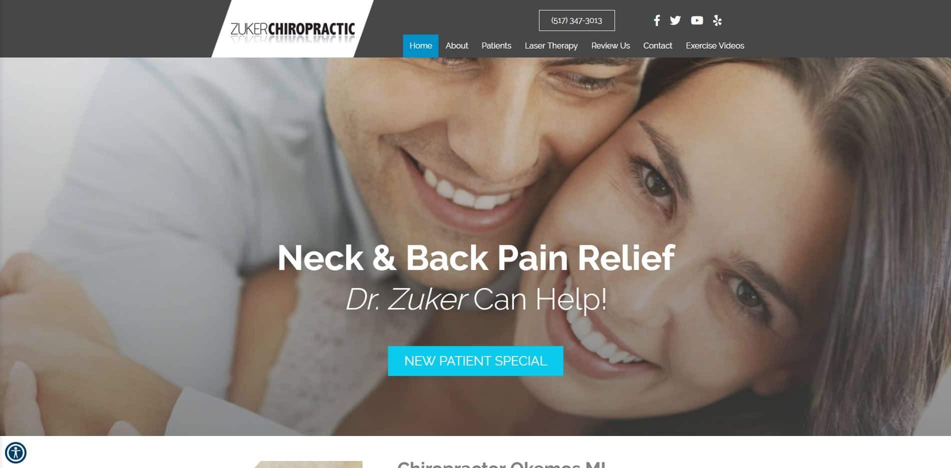Chiropractor in Okemos