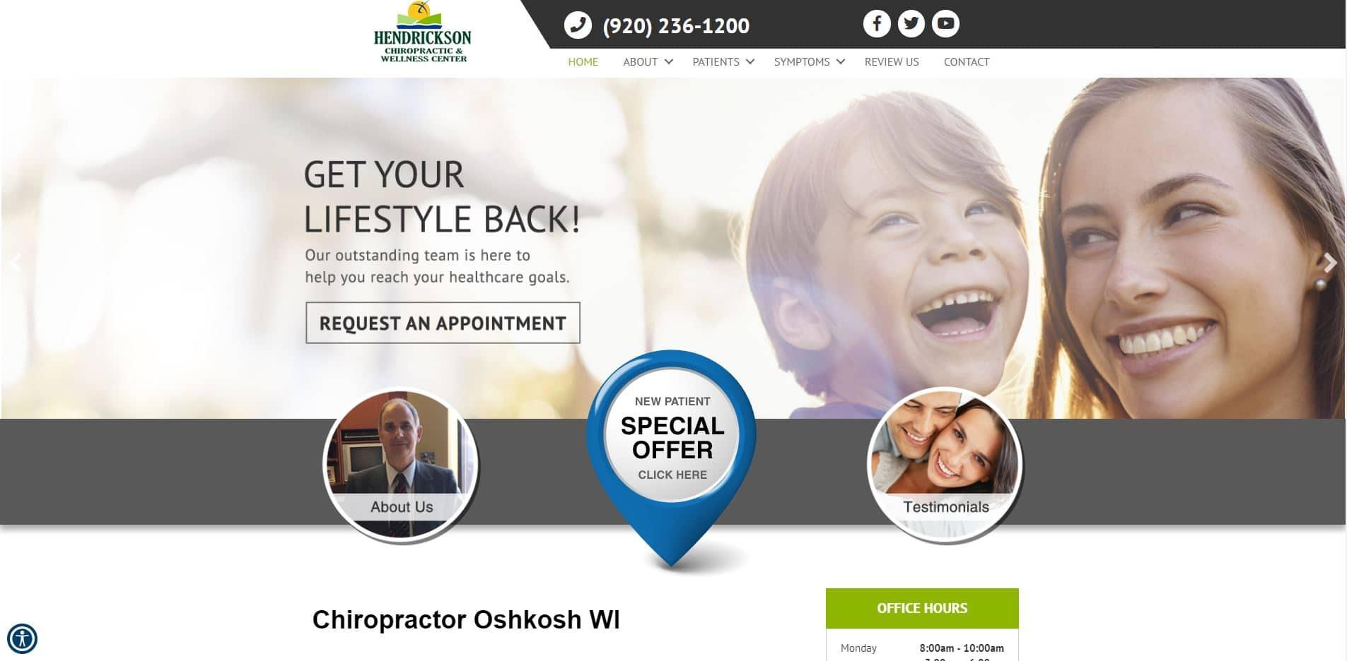 Chiropractor in Oshkosh
